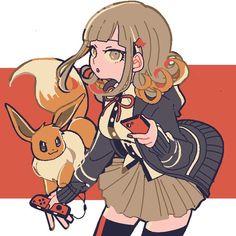 Chiaki Nanami by Super Danganronpa, Danganronpa Memes, Danganronpa Characters, Pokemon, Nanami Chiaki, Art Memes, Animes Wallpapers, Anime Art, Character Design