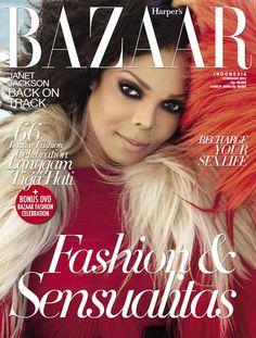 Harper's Bazaar: Janet Jackson, February 2012