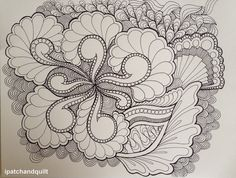 Oodles of doodles – part 02   ipatchandquilt