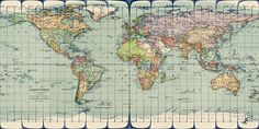 vintage world map high resolution - Google Search