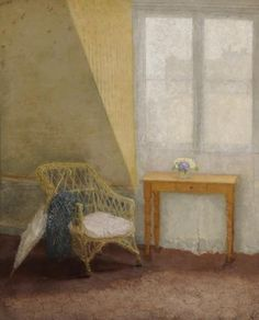 'A corner of the artist's room in Paris' Gwen John