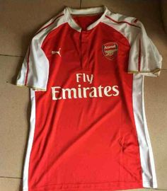 Leaked Arsenal Home Kit 15 16