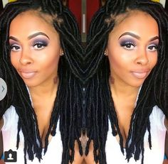 [www.TryHTGE. com] Try Hair Trigger Growth Elixir ============================================== {Grow Lust Worthy Hair FASTER Naturally with Hair Trigger} ============================================== Click Here to Go To:▶️▶️▶️ www.HairTriggerr.com ✨ ==============================================         Her Locs are GORG and Makeup is on Point!!!