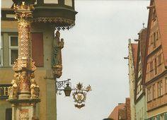 deutschland rothenburg ob der tauber