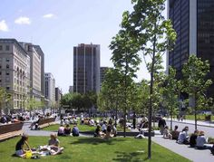 Projects - Quartier international de Montréal - Interventions - Square Victoria - Quartier International