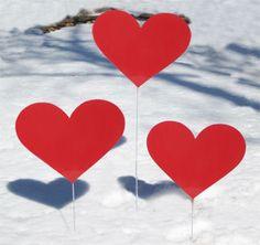 valentine quote garden