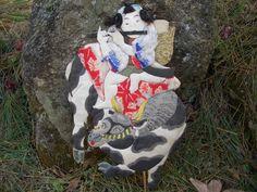 Antique Doll Japan Kukuribina Oshie Limited Mizusawa Area Flute Boy on Ox 1216 | eBay