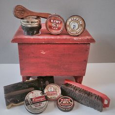 Vintage shoe shine kit eBay 52