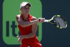 Kerber, Pliskova reach Miami quarters, Muguruza retires | Reuters