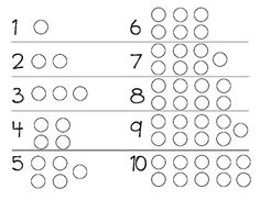 Counting Practice 1-10 (freebie)
