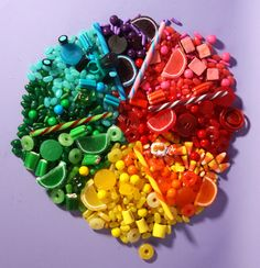 rainbow candy!