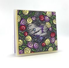 Fun shaker card by Kathy Racoosin!