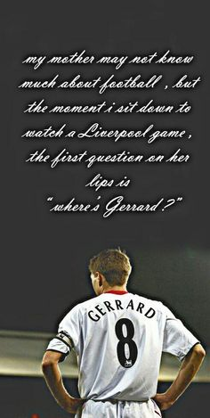 Where's Gerrard ??