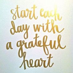 Happy #Thanksgiving! What are you most grateful for? #blessed #grateful #quote #gold #lilysfavourites