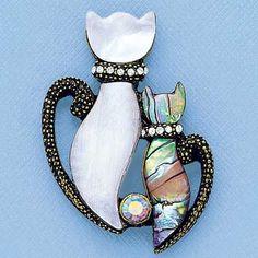 Sophisti-Cat Pin from www.amerimark.com.