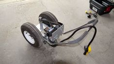 This trailer dolly is built using parts available at Princess Auto (in Canada) and probably Harbour Freight in the US. Parts list: 2000 lb ATV winch 16 tooth drive gear 54 tooth driven gear… Cargo Trailer Camper, Atv Trailers, Car Trailer, Utility Trailer, Teardrop Trailer, Atv Winch, Trailer Dolly, Power Trailer, Caravan