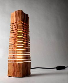 Beautifully Crafted Wooden lighting fixtures that look like Sculptures | Interesting things