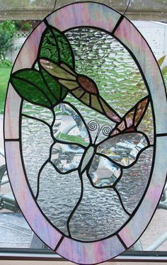 butterfly stained glass ~ by Sunfire Glass