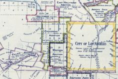 Los Angeles annexed Colegrove, along with neighboring communities, in 1909. Courtesy of the Library of Congress.