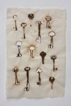 Diane Jacobs, hot keys on linen