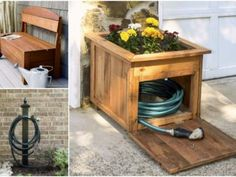 3 Useful & Simple Garden Hose Storage Projects1
