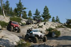 Jeep and friend goals right here! Rubicon Trail, Wrangler Rubicon, Jeep 4x4, Jeep Truck, Jeep Wallpaper, Jeep Trails, Badass Jeep, Jeep Camping, Jeep Mods