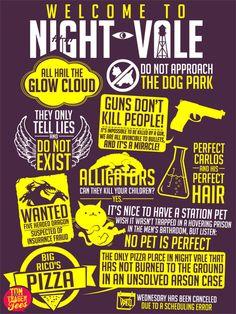 """""""My favorite Night Vale quotes"""" by Tom Trager"""