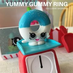 Yummy Gummy Ring - Shopkins Candy Set Exclusive Shopkin