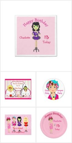 Girls Only Pamper Spa  Party Theme