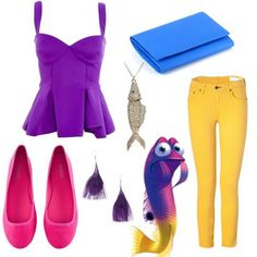 dress like gurgle finding nemo