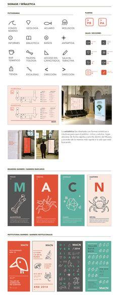 MACN - Identidad Museo de Ciencias Naturales by Juan Martín Serrovalle, via Behance