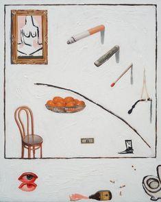 "Supersonic Art: Emilio Villalba's ""Symbols of Death, Signs of. Modern Art, Contemporary Art, York Art Gallery, New York Art, Pastel Drawing, Art File, Traditional Art, Art Boards, Art Inspo"