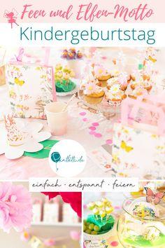Eine magische Feenparty zum 6. Geburtstag. Ein tolles Geburtstagsmotto für kleine Mädchen. Hol' dir Inspiration für die Feen und Blumen Deko, Snacks und Kuchen und Spiel- und Bastel-Tipps mit Druckvorlagen. Alles, was du für den enspannten Kindergeburtstag mit Feen-Motto benötigst, findest du jetzt auf dem Printfetti Blog. Viel Spaß beim Feiern! #printfetti #kindergeburtstag #fee Party Mottos, Vanilla Cake, Table Decorations, Cupcake, Blog, Snacks, Tattoos, Inspiration, First Birthday Girls