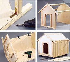 Cuccia con veranda cucce per cani coibentate pinterest for Costruire cuccia per cani