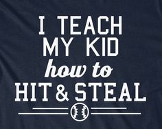 Funny Baseball Dad Mom T-Shirt Husband T Shirt Tees Dad Mens Gift Present Father's Day Daddy Sports Son Daughter Parents Softball Hardball