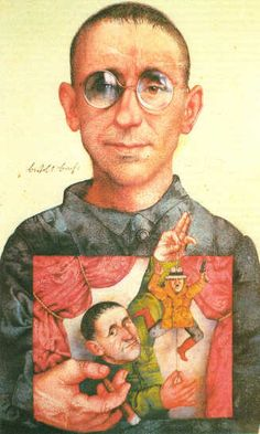 """Bertolt Brecht was able to use realism in his work of the """"The Good Woman of Setzuan"""" to express his own political views and his rationale in the flaws that society has. His work sends a message to his audience on how it is impossible to change human nature, so the only other option is change the society we live in."""
