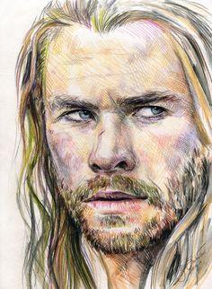 Thor Odinson by SakuTori.deviantart.com on @DeviantArt