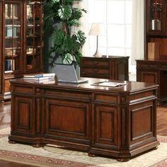 Riverside Cantata Executive Computer Desk
