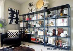 IKEA Vittsjo Shelving Units: Geek Chic Style | Desert Domicile