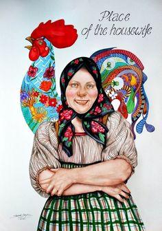 Housewife w ART SOUL Edyta Suszek na DaWanda.com
