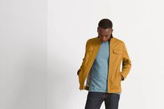 Here's my pick of the top 5 ethical brands to check out this autumn. Not only are these legends making clothes with sustainable impact, they're going the extra mile to make our world and the clothes we wear even better. Slim Fit Jackets, Work Jackets, Denim Button Up, Button Up Shirts, We Wear, How To Wear, Ethical Brands, How To Make Clothes, Spring Collection