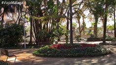 Su diseño es de Jardín Mediterráneo y para su construcción se tuvo que ganar terreno al mar.
