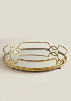 """What better way to spell out """"love"""" than with a romance language? Imprinted with lovely Italian scrolls, store your favorite jewels and trinkets on this dish from Vietri. For additional usage, layer with our Dream in Lace Plates for a sweet tabletop look."""