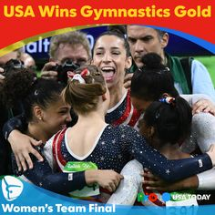 USA women romp to Rio Olympics gymnastics team gold
