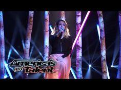 "Anna Clendening: Vine Star Cover ""Human"" by Christina Perri - America's Got Talent 2014 - YouTube"
