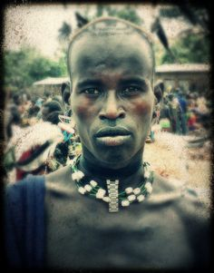 warrior proud jinka tribal ethiopia