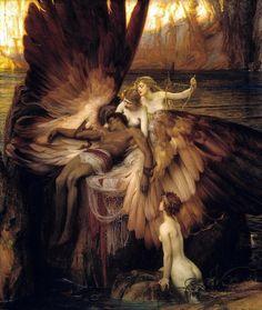 Herbert James Draper - The Lament for Icarus