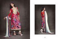 Fancy Mint Red and Off white #Salwar #Kameez #Online #Shopping #Clothing #Dress #Chudidar #White #Dupatta #Supplier #Seller #Manufacturers