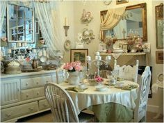 Shabby Chic Style Home Table