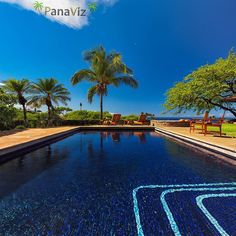 """Pool time in Hawaii"